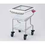 Transparent Top Panel Cart