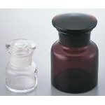 Wide Mouth Short Type Ground Stopper Bottle