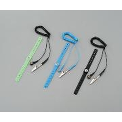 Wrist Strap with Cord, Band Material: Silicone Rubber
