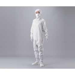 ASPURE Cleanroom Wear (with Attached Hood and Mask /Hidden Fastener Type)