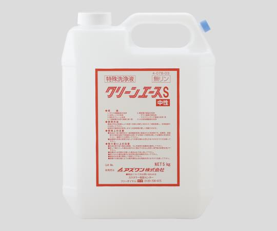 Clean Ace S Phosphorus-Free / Cleaning Concentrate 5 kg