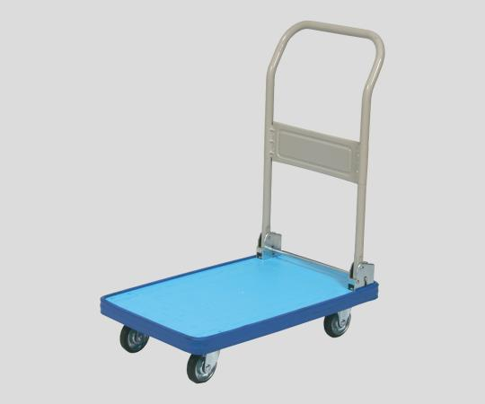 Plastic Trolley with Rubber Bumper