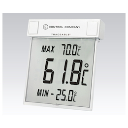 Large Screen Thermometer (TRACEABLE) -25 - +70℃