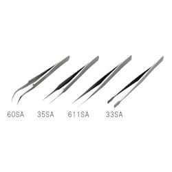 Stainless Steel Tweezers Length 116mm Tip Size 33mm