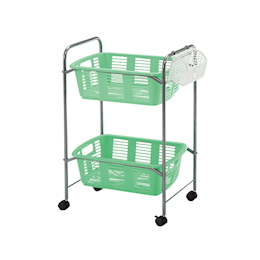 Basket Wagon 515 x 378 x 788 with Caster