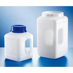Wide-Mouth Square Bottle with Handle 4400mL
