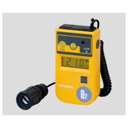 Oxygen Concentration Meter 1m (Curl Cord Type) with Calibration Certificate