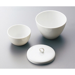 Porcelain Crucible Cover For 150mL