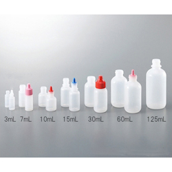 Small And Fixed Quantity Drip Bottle Tip Pink For 30, 60, 125mL
