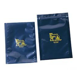 ESD Shield Bag (4-Layered Type) with Zipper 250 x 350 x 0.076