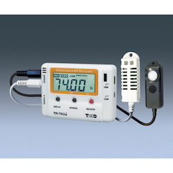 Illuminance Ultraviolet Thermo-Hygro Data Logger Tr-74Ui
