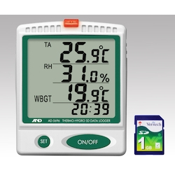 Digital Thermo-Hygro SD Data Logger