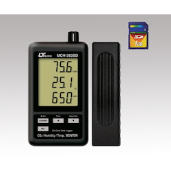 Data Logger Digital MCH-383SD (Thermo-Hygrometer, CO2 Meter)