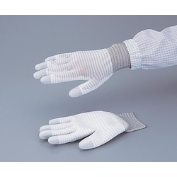 ASPURE Conductive Line Gloves Palm Coated M 10 Pair