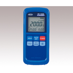 PortableThermometer K Type Standard with Resolution Switching, Analog Output Function (1mv/℃)