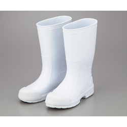SANIFIT Oil Resistant Rubber Boots White Toe Puff Included 24.0cm