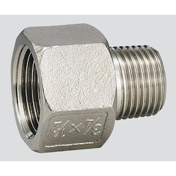 Stainless Steel Fittings (Female Male Socket) VMF-0604 (Connection Standard 3/4Rc x 1/2R)