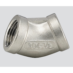 Stainless Steel (45° Elbow) V45L-08 (Connection Standard 1Rc)