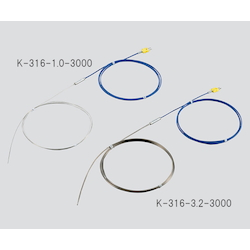K Sheath Thermocouple (Stainless Steel (SUS316)) 900℃ φ8.0 x 1000mm