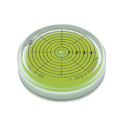 Round Eyevel level gauge with Goniometer