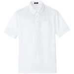 AZ-10599 Moisture-Wicking (Cool Comfort) Short-Sleeve Button Down Polo Shirt (Unisex)