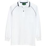 AZ-50010 Antistatic Long-Sleeve Polo Shirt (Unisex)