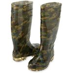 AZ-65902 Camouflage Long Boots (With Toe Core)