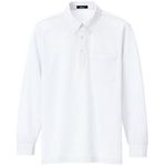 Long-sleeved Button-down Polo Shirt (unisex)