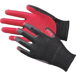 Unlined rubber glove comfortable rubber