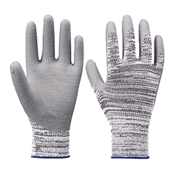High Cut-Resistant Gloves (Nitrile, 10G, Cut Level 5)