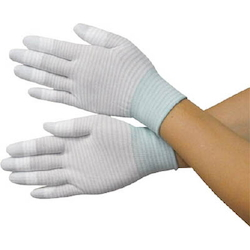 Anti-Static Knitted Gloves (Fingertip Coat Type)