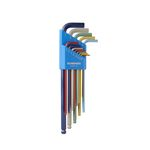 Color Guard / L-Wrench Set Extra Long (Unit: Inches)