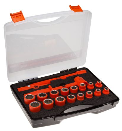 19 Piece Insulated Socket Set