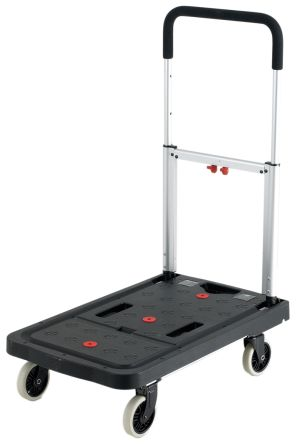 Plastic Folding Flatbed Trolley