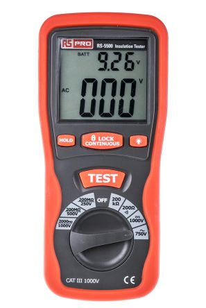 RS5500 Insulation & Continuity Tester