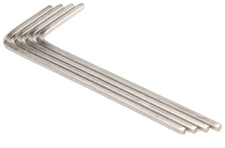 L Shape Short Arm Hex Key Chrome Vanadium Steel