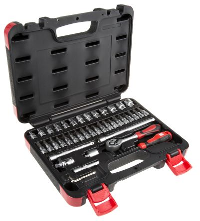 43 Pieces 1/4 inch Socket Set
