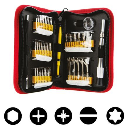 45 Piece Precision Screwdriver Set