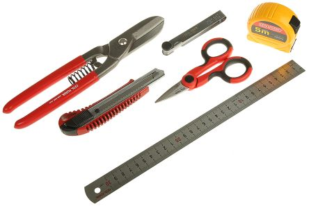6 Piece Measuring and Cutting Tool Module