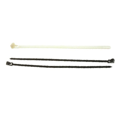 Black Releasable Cable Ties