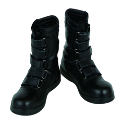 Black Panther Black Safety Boots for High Altitude