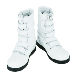 Black Panther White Safety Boots for High Altitude