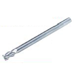 Solid End Mill for Aluminum Machining (Long Shank) (Slim Shank) (with Minute Corner Radius) AL-SEES3-LS-R02 Type