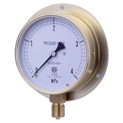 HNT General Purpose Pressure Gauge, Rounded Edge Type (B)