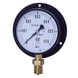 IPT General Pressure Gauge, Vibration-Proof Type, Rounded Edge Type (B)