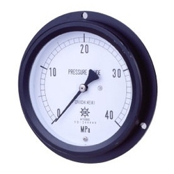 MPK Metal Closed Vacuum Gauge SUS, Vibration-Proof Type, Embedded Type (D)