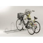 Horizontally Placed Bicycle Rack Front Wheel Plug-In Cycle Stand