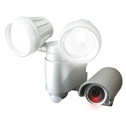 LED Sensor Light 6 W, with Video Recording, Double SLT-6LWVA