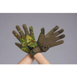 [Camouflage] Leather Gloves (Synthetic Leather) EA353BJ-101