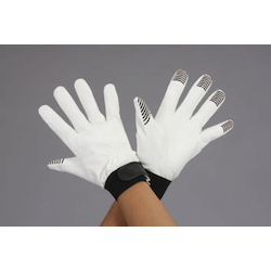 Leather Gloves with Nonslip EA353BJ-78